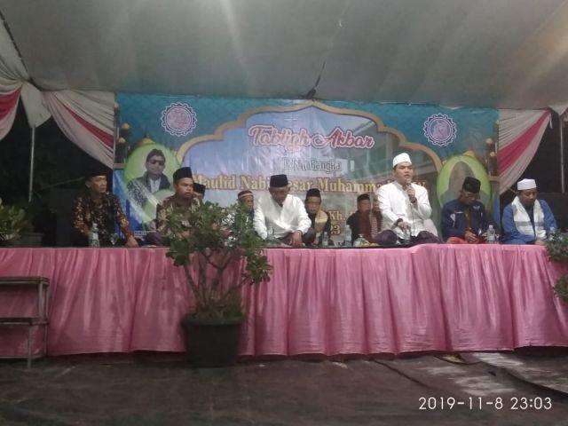 Memperingati Maulid Nabi Muhammad SAW dan sekaligus Haul di Pondok Pesantren Salafiyah Miftahul Ulum Pekon Sidodadi Kecamatan Pardasuka