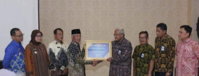 Penghargaan dari Menteri Keuangan RI