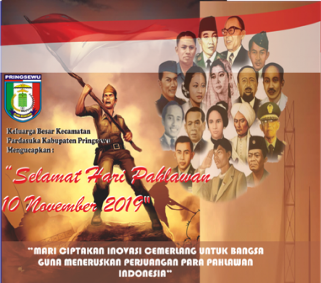 SELAMAT HARI PAHLAWAN.... JAYALAH INDONESIAKU