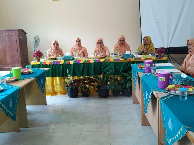 Tim Dharma Wanita Persatuan Kabupaten Pringsewu Lakukan Kunjungan ke Kecamatan Pardasuka