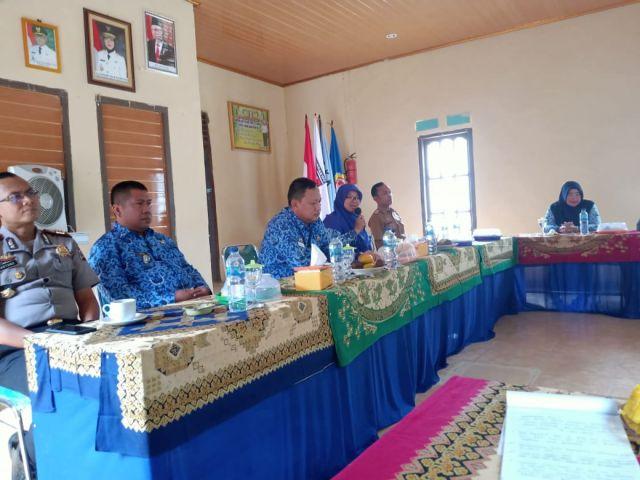 Pembagian Bantuan Cadangan Kerawanan Pangan Pemerintah Kabupaten Pringsewu